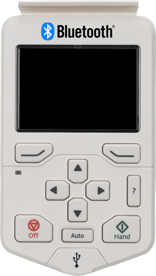 Picture of ABB ACH580 HVAC Control Panel with Bluetooth