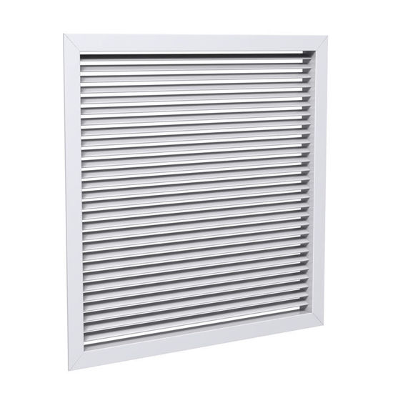 Single Deflection Louvered Return Air Grille (Model 530)