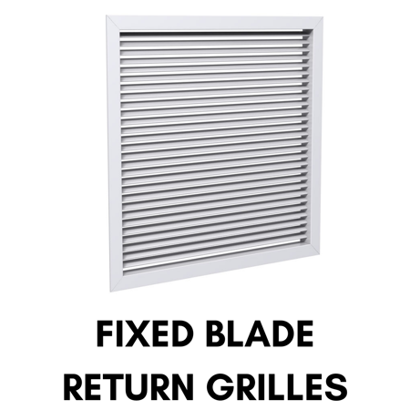 Picture for category Fixed Blade Return Grilles