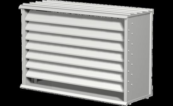 Picture of Extruded Aluminum Brick Vent, 15 In X 7 In