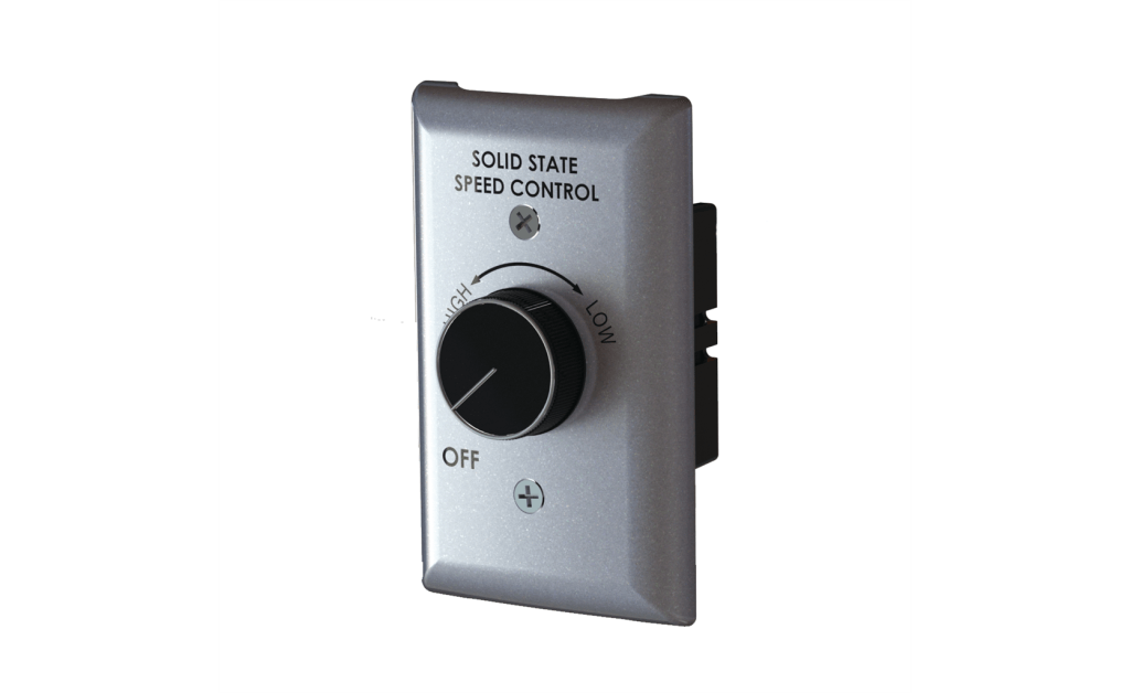 Picture of Speed Control, 6 Amp, 120V, Wall Mounted