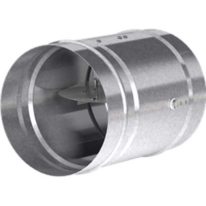 Picture of Dynamic 1.5 Hour Rated Round Fire Damper, 6 In. Diameter