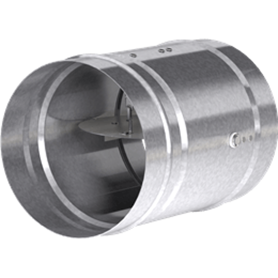 Picture of Dynamic 1.5 Hour Rated Round Fire Damper, 8 In. Diameter