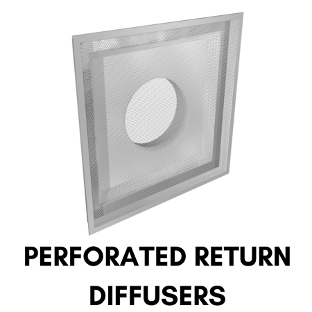 Picture for category Perforated Return Diffusers