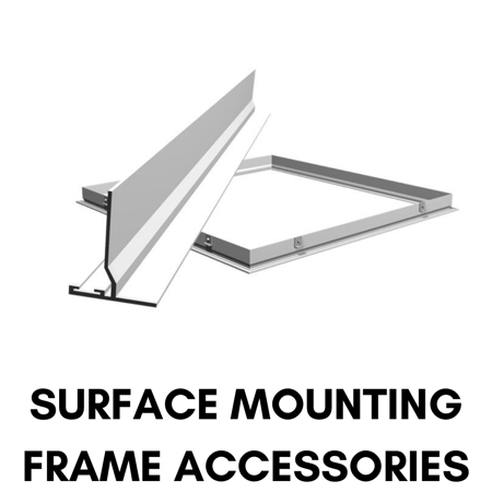Picture for category Surface Mounting Frame Accessories