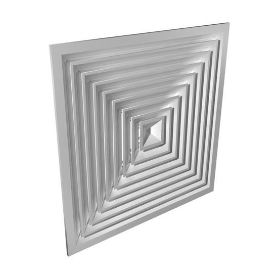 Picture of Square Directional Ceiling Diffuser